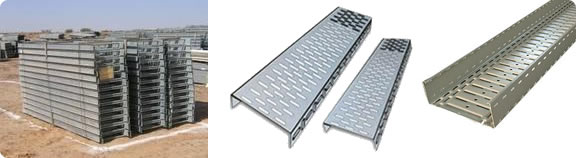 Wire Mesh Cable Tray and Perforated Channel Tray for Construction of ...
