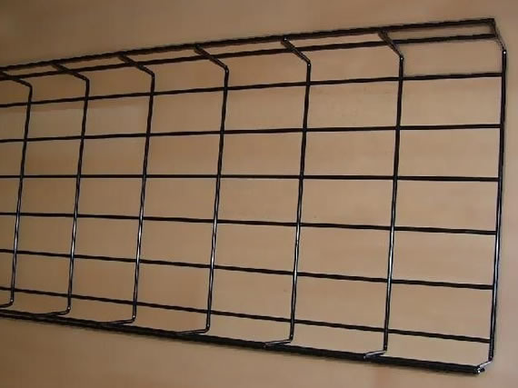 Vinyl Coated Wire Mesh Cable Tray- Powder Surface Treatment With OEM